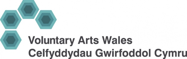 Voluntry Arts Wales logo
