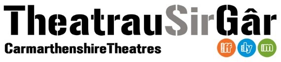 Theatrau Sir Gar logo