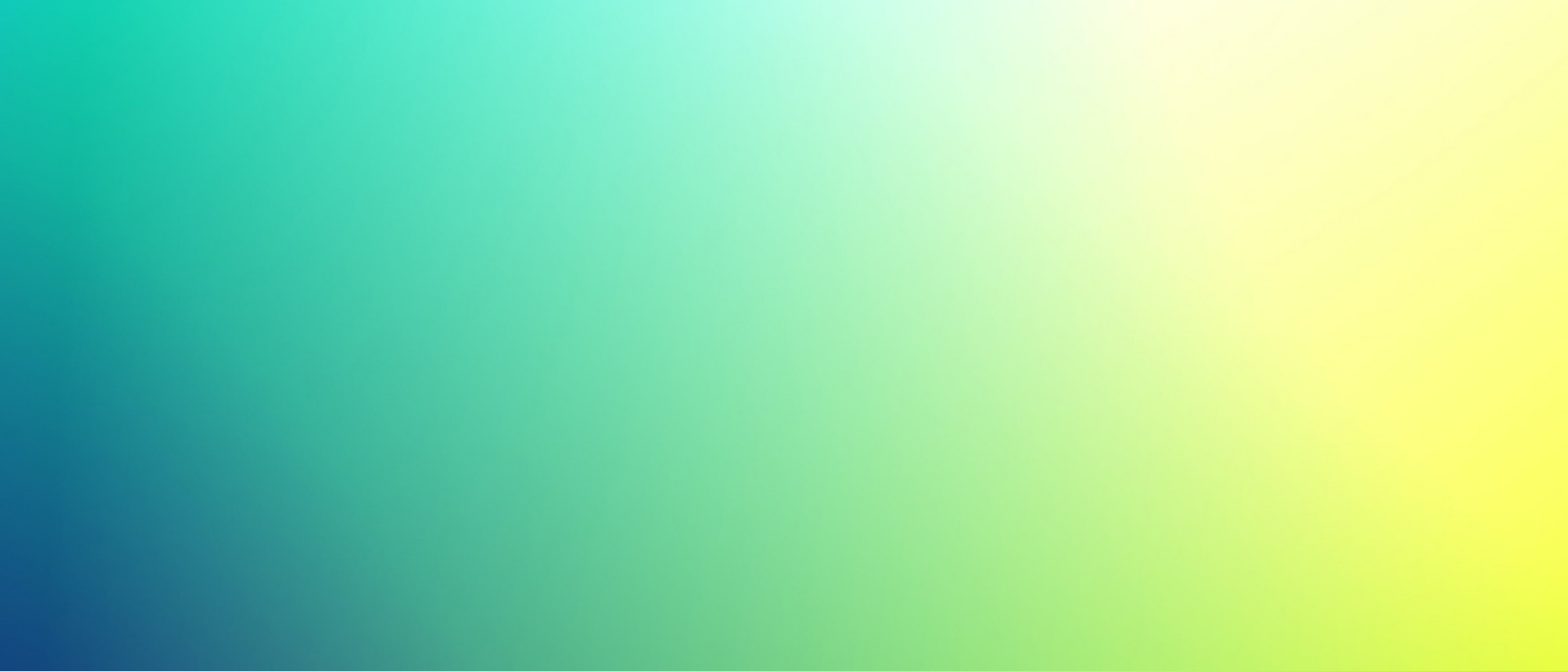 Plain colour gradient blue green yellow