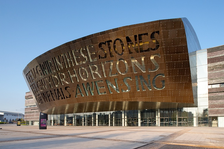 External photo of Wales Millennium Centre