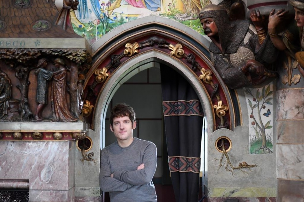 Comedian Elis James at Cardiff Castle