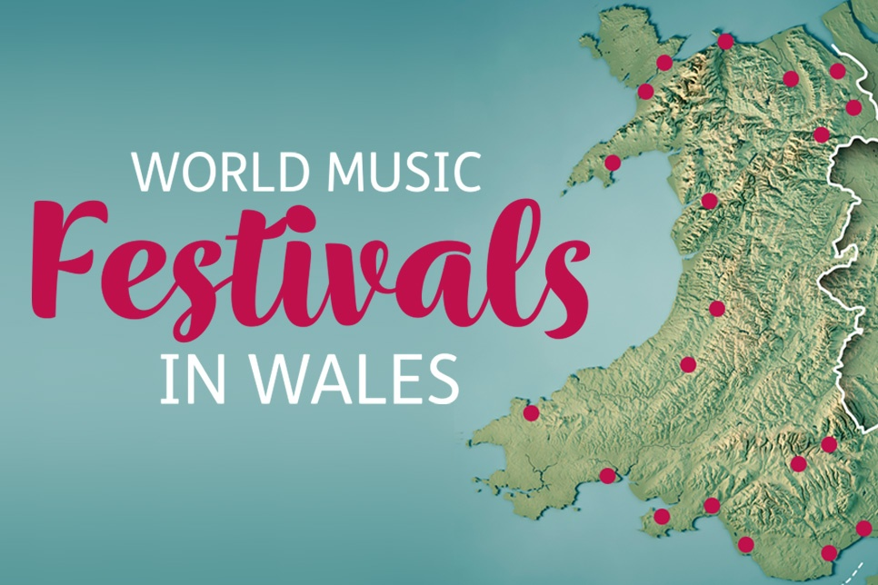 World Music Festivals in Wales graphic