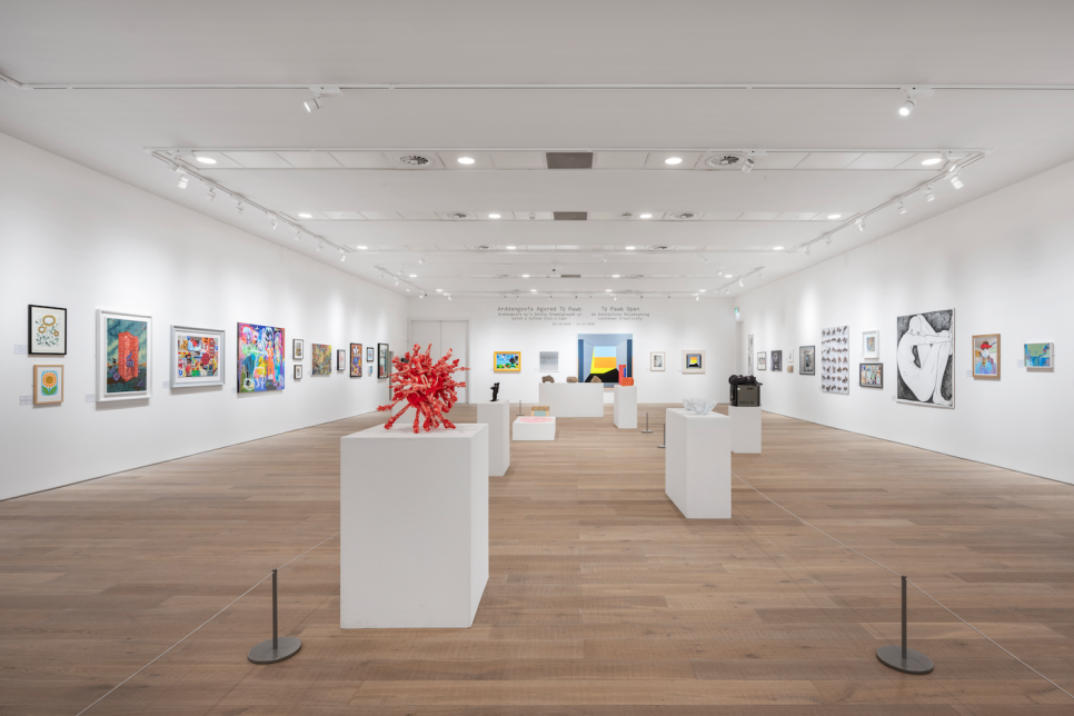 Photograph of art gallery